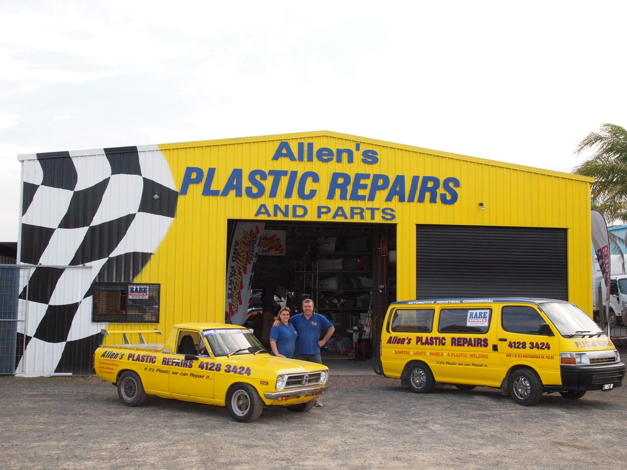 Allen's Plastic Repairs and Parts